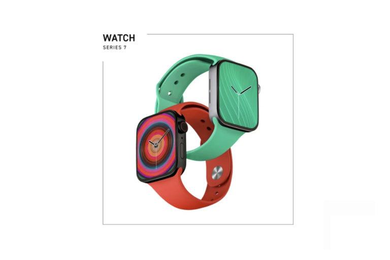 新的 Apple Watch Series 7 渲染图展示了新的设计和变化