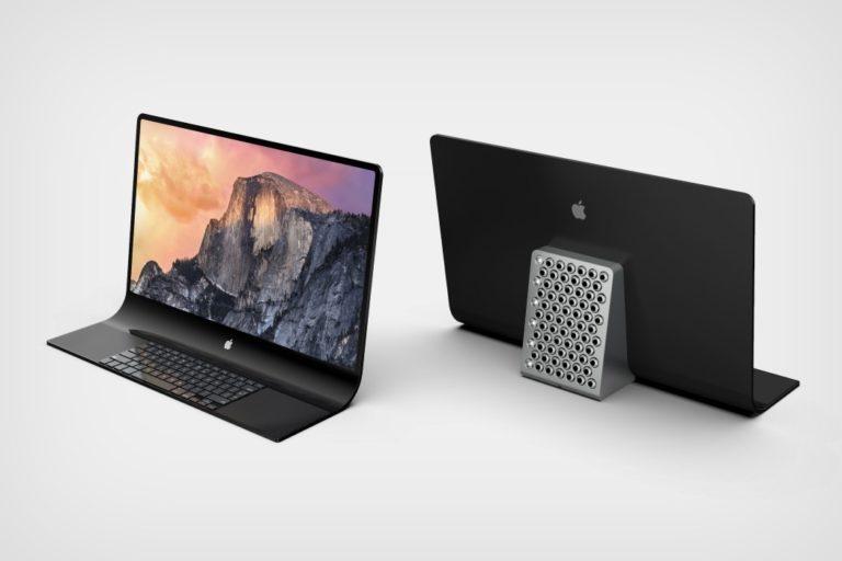 苹果获得专利:采用弧形玻璃设计和内置键盘的新型 iMac 电脑