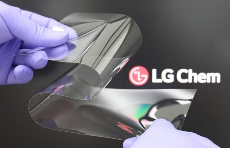 LG 新的可折叠显示技术旨在教三星如何做到这一点