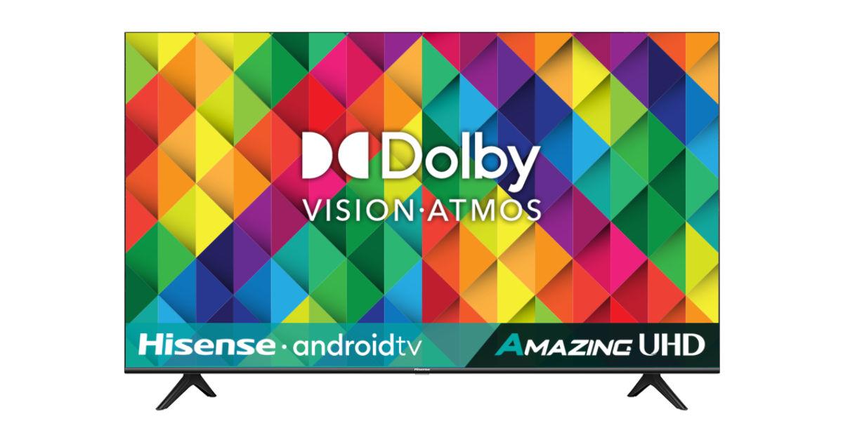具有全阵列局部调光功能的 HiSense 55 英寸 QLED 电视在印度推出