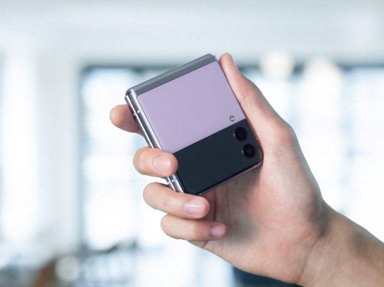 三星 Galaxy Z Flip 3 起售价 400 美元,更多三星产品也在发售