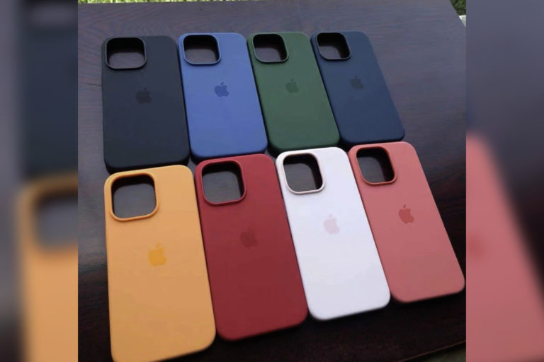 据称 iPhone 13 系列保护壳在 Apple 发布会前以 8 种颜色展示