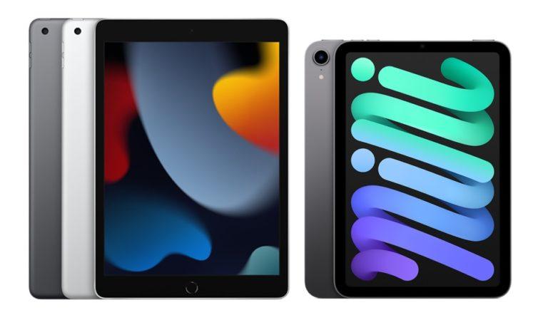 立即预订您的新 iPad 9 和 iPad mini 6!