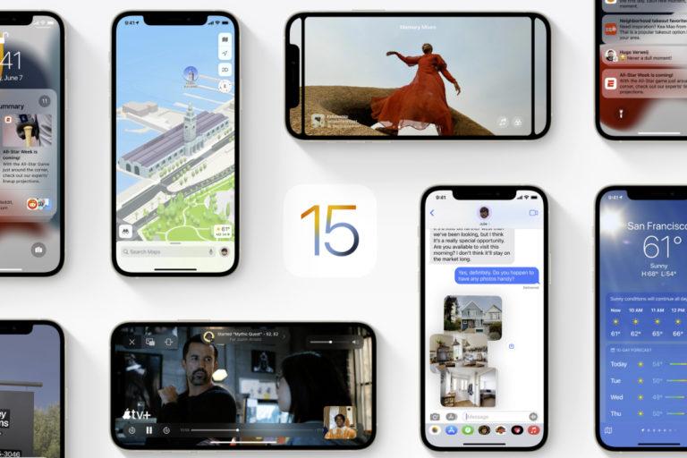 Apple iOS 15、iPadOS 15、watchOS 8 发布日期