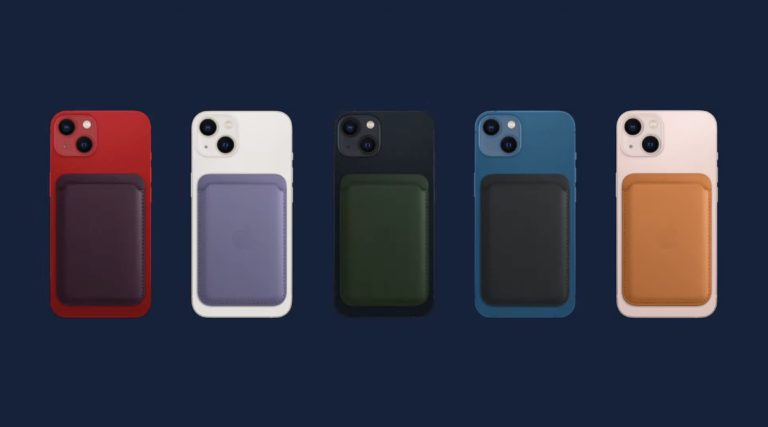 "Apple 的 iPhone 新 MagSafe 钱包可通过""查找我的""进行追踪"