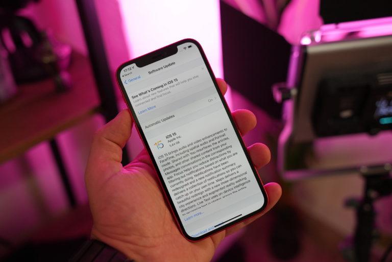iOS 15 和 iPadOS 15 已经向部分用户推出