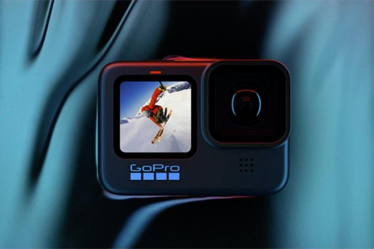 GoPro HERO 10 Black 运动相机配备 23.6MP 传感器