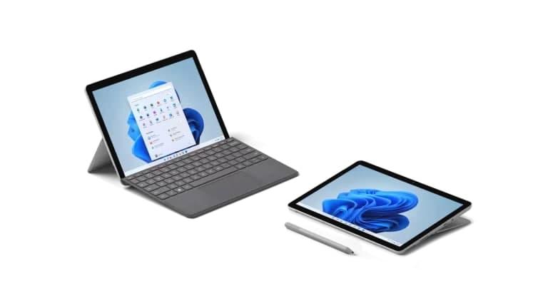 Surface Go 3 配备更强大的第 10 代英特尔处理器和 Windows 11