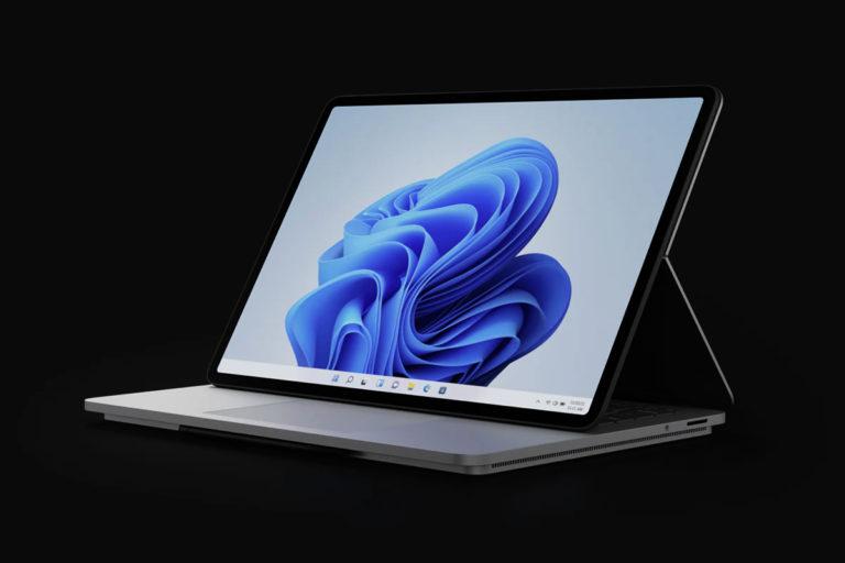 微软宣布了全新的 Surface Laptop Studio