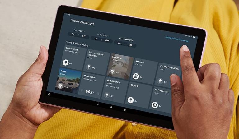 亚马逊 Fire HD 平板电脑和更多设备正在发售