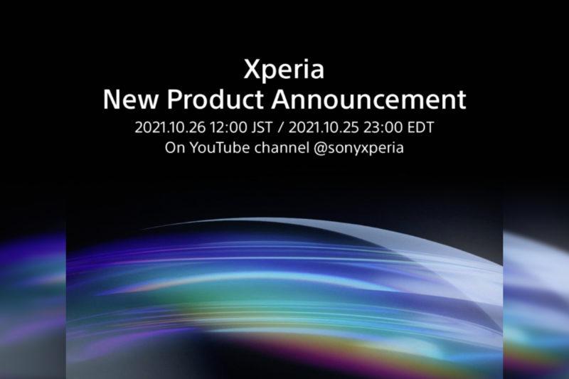 新的索尼 Xperia 智能手机将于 10 月 26 日上市