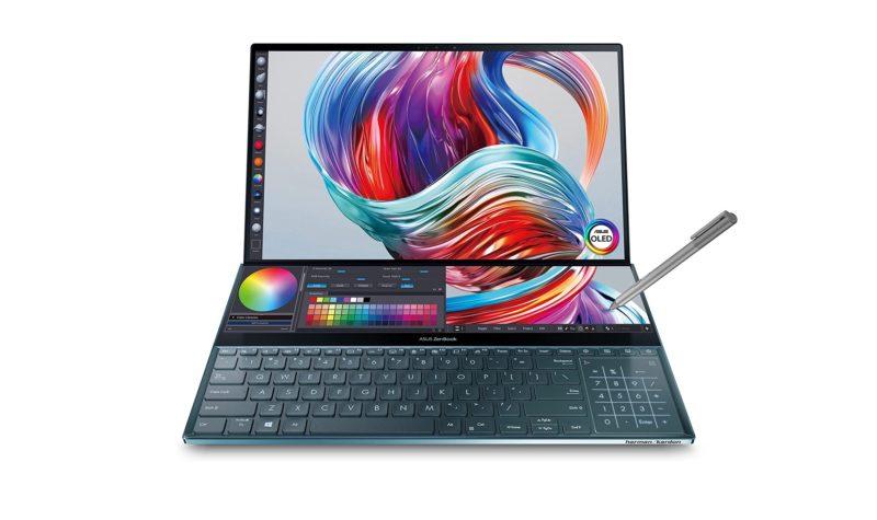 华硕 ZenBook Pro Duo UX581 笔记本电脑、游戏显示器等正在发售