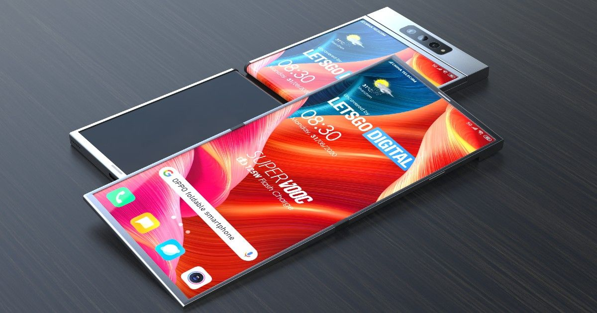 Oppo 折叠式可折叠智能手机配备大电池和 65W 快速充电