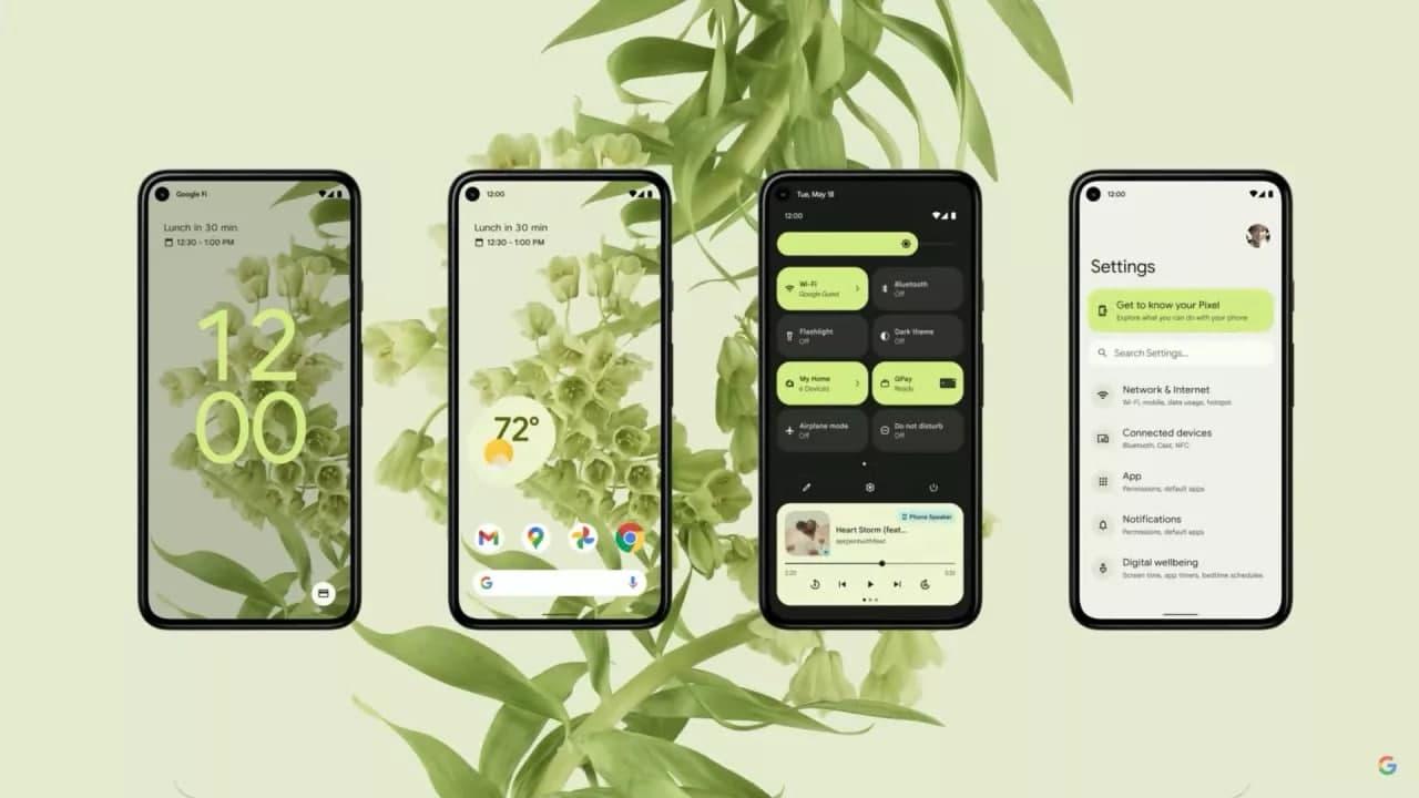 Android 12 是 Google Pixel 6 的最佳选择,适用于所有 Pixel 手机