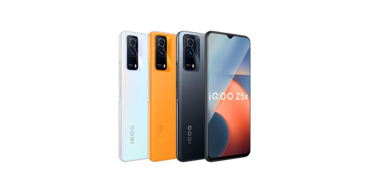 iQOO Z5x在中国上市,配备120Hz IPS液晶屏、5000mAh电池