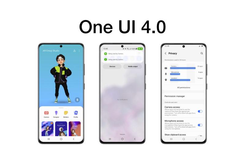 三星最早可能在 11 月发布 One UI 4.0